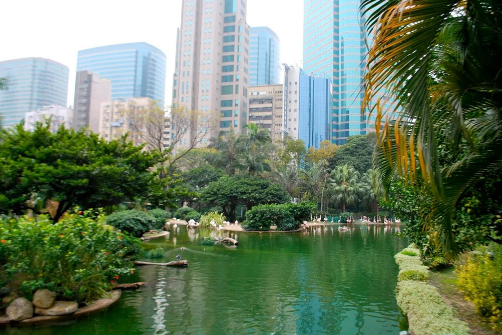 Коулунский парк в Гонконге