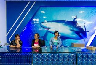 Акулья фабрика на Хайнане