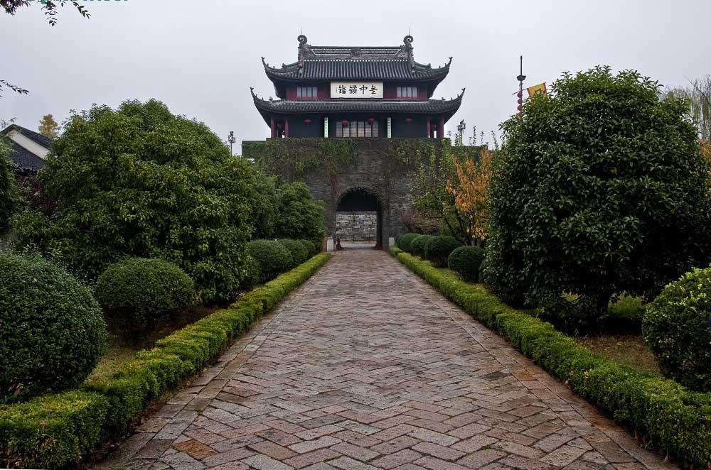 Ворота Паньмэнь в Сучжоу