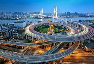 Мост Наньпу в Шанхае