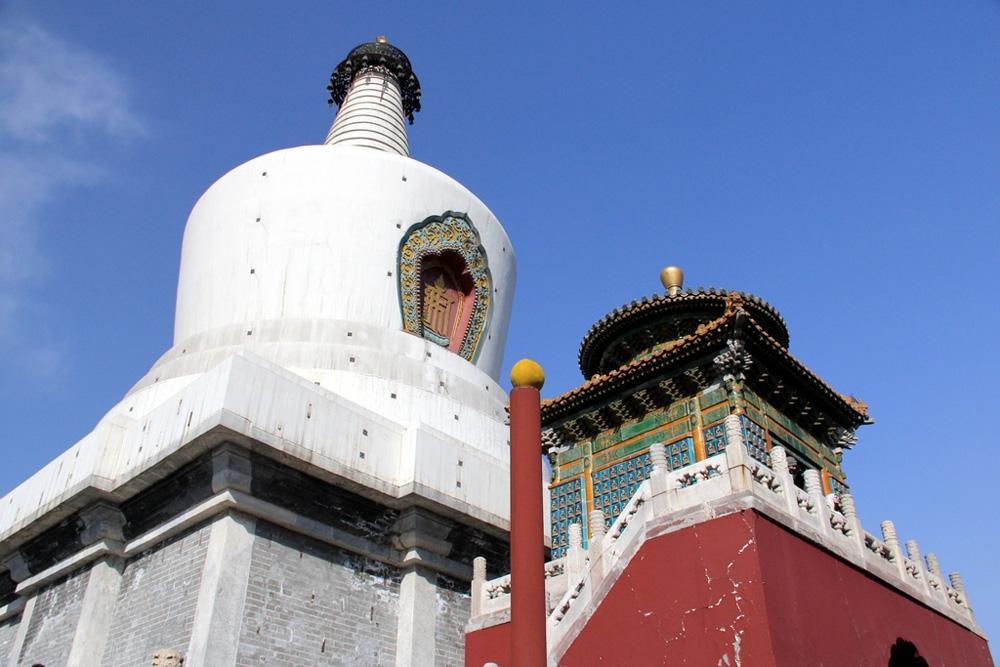 Храм белой ступы в Пекине