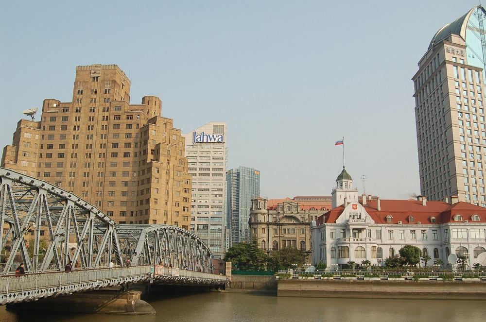 Садовый мост в Шанхае