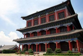Буддийский храм Хуаншаньсы в Даляне