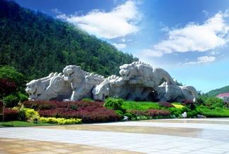 Парк Ху Тань в Даляне