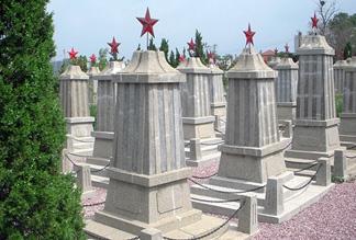 Русско-советское военное кладбище в Даляне
