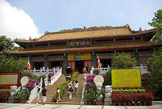 Монастырь По Лин в Гонконге