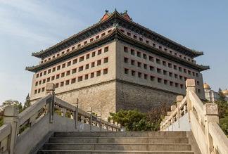 Башня Цзяньлоу в Пекине