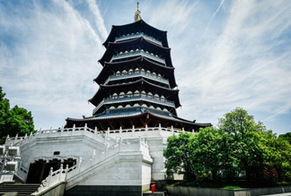 Пагода Лэй Фэн в Ханчжоу