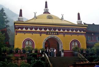 Монастырь Вань Нянь в Чэнду