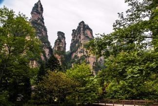 Хунаньский каньон Золотой кнут