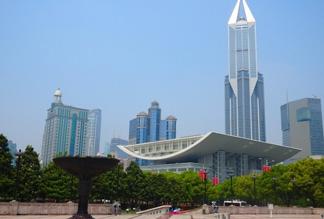 Центральная площадь Шанхая
