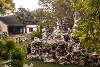 Львиный лес в Сучжоу