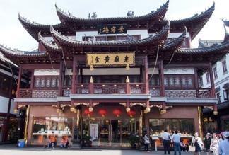 Храм «Город бога» в Шанхае