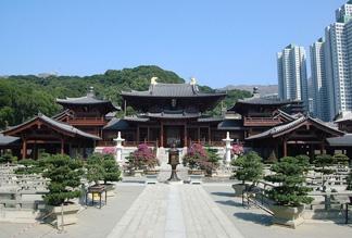 Монастырь Чи Лин и сад Нан Лиан