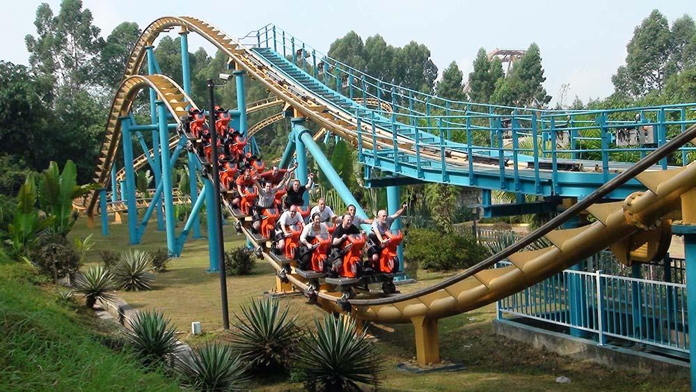Парк развлечений Чимелонг в Гуанчжоу