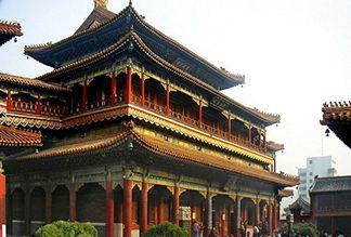 Тибетский буддийский храм Юнхэгун в Пекине
