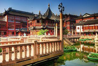 Сад Юй Юань в Шанхае