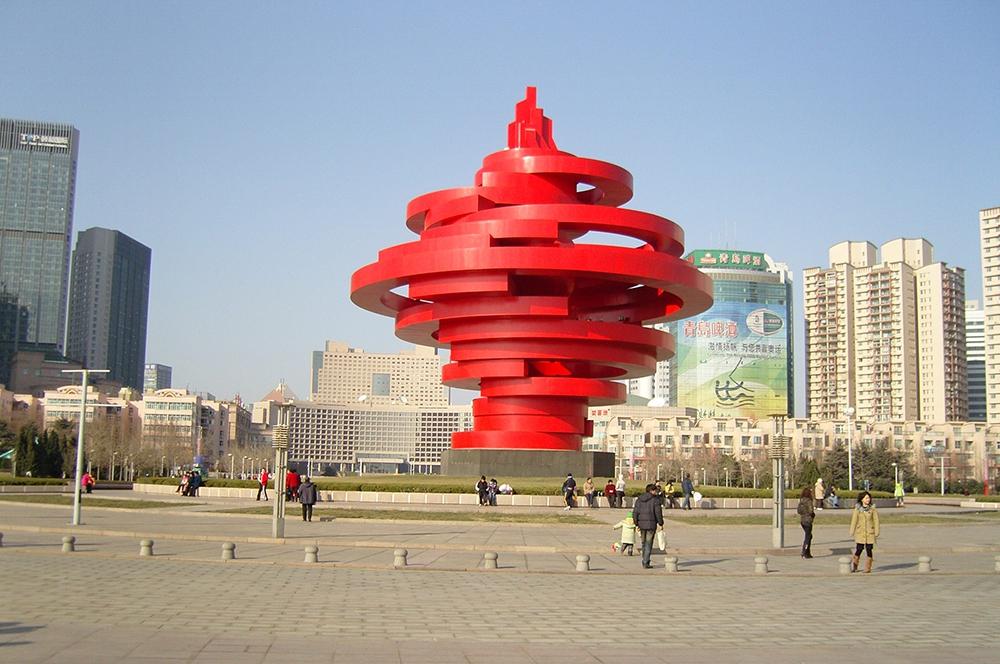 Площадь 4 мая в Циндао