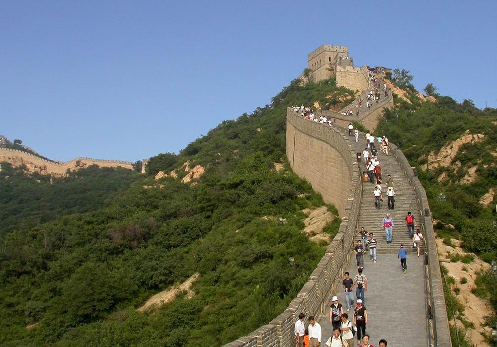 Великая Китайская стена, участок Бадалин в Пекине