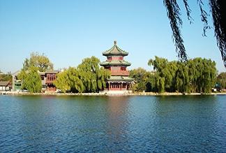 Озеро Хоухай в Пекине