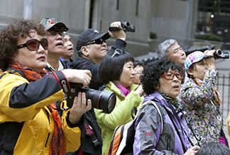 Все больше туристов из Китая приезжает в Россию