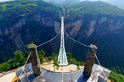 Туры в Китай к стеклянному мосту