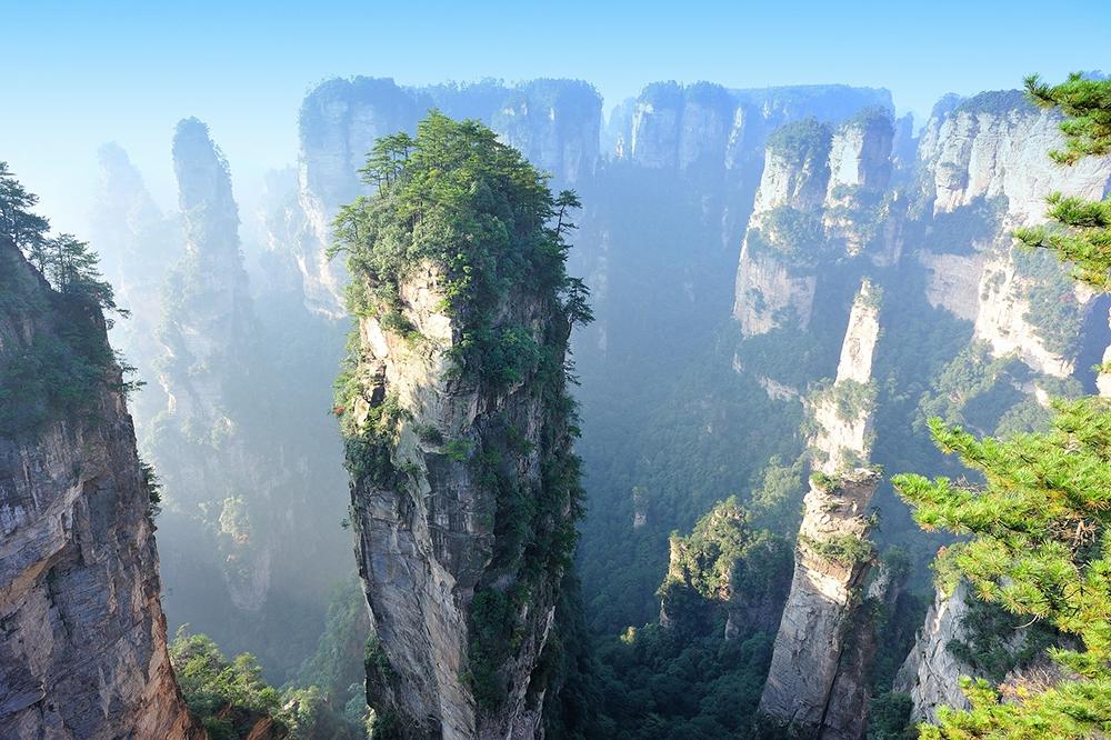 Гуанчжоу - Чжанцзяцзе - Улинъюань - Фэнхуан - Сиань - Сучжоу - Ханчжоу - Шанхай