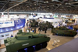 Военная выставка в Китае